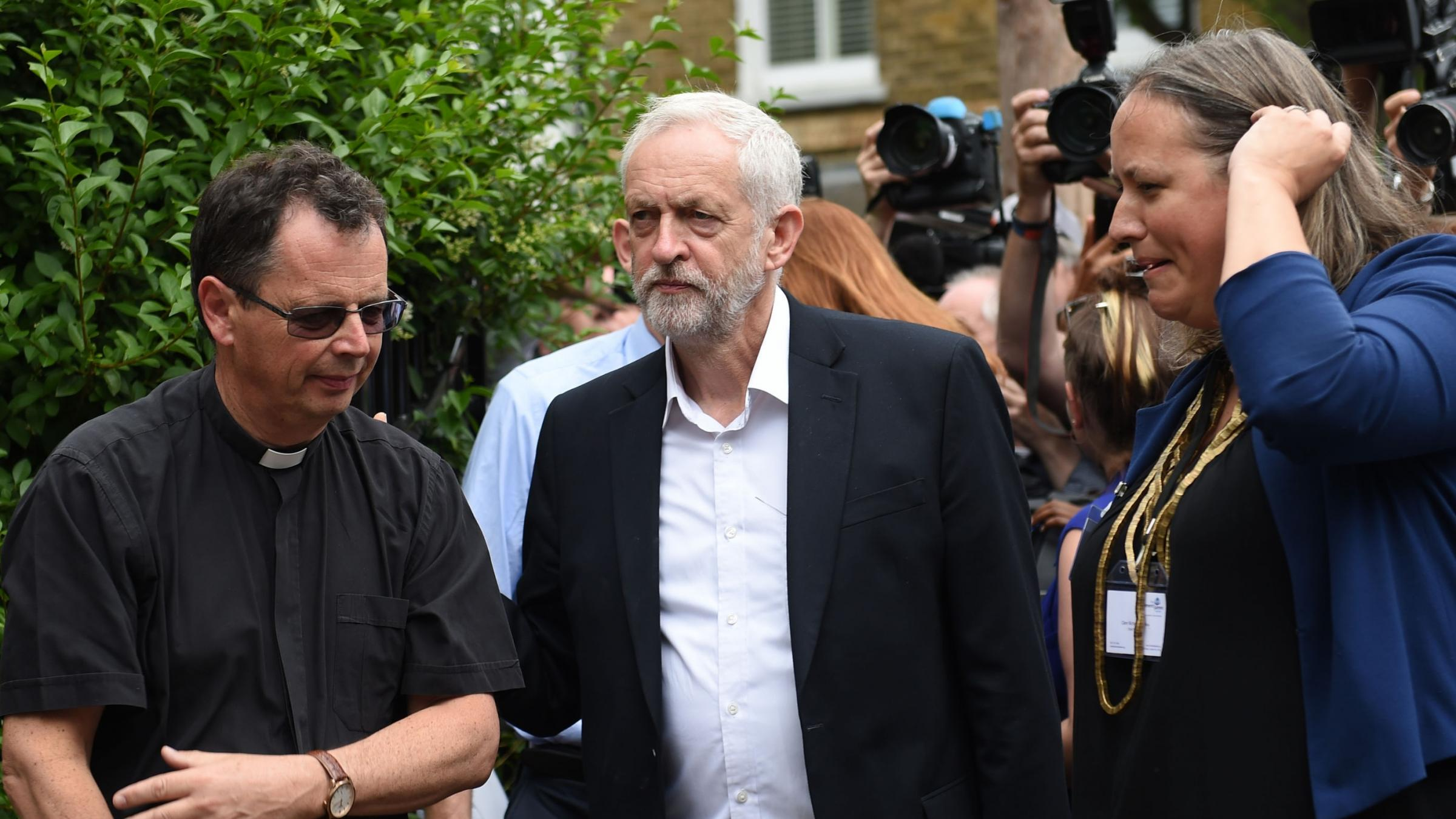 Corbyn urges Government to take over empty homes for Grenfell fire victims